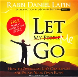 Let Me Go - Rabbi Daniel Lapin (CD)