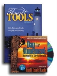 Day of Atonement/Thought Tools Combo Pack - Rabbi Daniel Lapin (Paperback/CD)