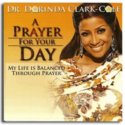 Prayer For Your Day, A - Dorinda Clark-Cole (CD)