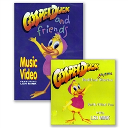 """Friends"" and ""Bedtime/Anytime"" DVD/CD Combo -  Gospel Duck"