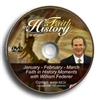 Faith in History Moments DVD 1(Jan-Feb-Mar) - William Federer (DVD)