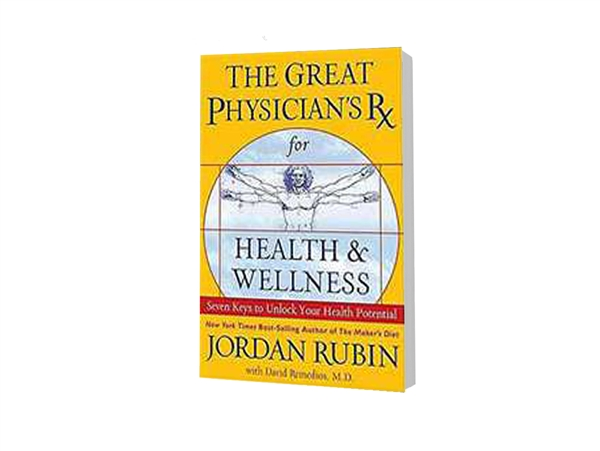 Great Physician's Rx for Health and Wellness, The - Jordan Rubin (Paperback)