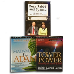 Ancient Jewish Wisdom Book/CD Offer – Rabbi Daniel and Susan Lapin (Paperback/CD)