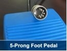 5 Prong Replacement Foot Pedal for Conwin Inflator