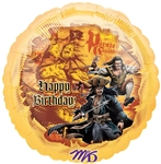 18 inch Disney Pirates II Happy Birthday