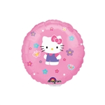 9 inch Hello Kitty Balloons Round
