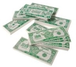 6in Bulk Play Money $20.00 Bill