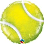 Tennis Ball shaped foil balloon