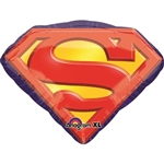 26 inch Superman Emblem  Super Shape balloon