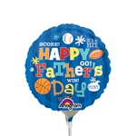 9 inch Happy Father's Day Sports