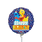 9in Sesame Street Happy Birthday Confetti