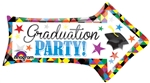 36 inch Grad Party Arrow Shape Foil Balloon