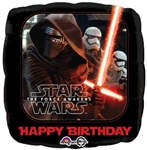18 inch Star Wars Force Awakens Happy Birthday
