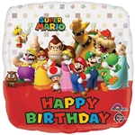 18 inch Mario Bros Happy Birthday
