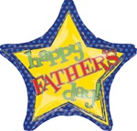 VLP 18 inch Happy Father's Day Blue Star