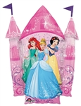 35 inch Disney Multi Princess Castle