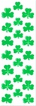 2in x 7in Shamrock Stickers