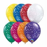 5in Qualatex Round STARS-A-Round Jewel Assortment