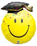 36 inch Smile Face Party Grad