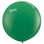 3ft GREEN Qualatex  Standard