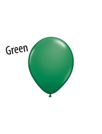 5 inch Green latex balloons