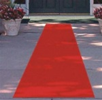 24in x 15ft Red Carpet Runner