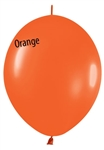 12in Link-O-Loon Fashion ORANGE