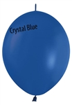 12in Link-O-Loon Crystal BLUE