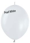 12in Link-O-Loon Pearl WHITE