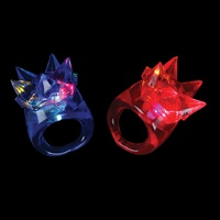 1 inch Flashing Spike Ring