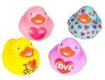 2 inch Love Rubber Duckies