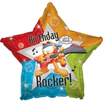18 inch Garfield Rockin' Birthday Star