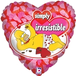 18 inch Simpsons Love Simply Irresistible