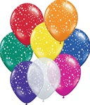 11 inch STARS A-Round Balloons