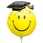 14 inch Smile Face Party Grad