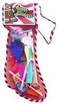 18 inch Toy and Candy Filled Net Christmas Stocking