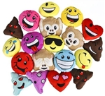 4.5 inch to 6 inch Emoticon Plush Assortment