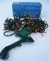 140 Mini White Lights on GREEN Cord
