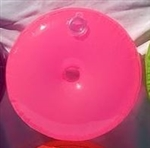 16 inch Vinyl Water Weight PINK