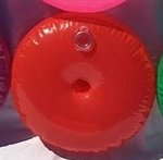 16 inch Vinyl Water Weight ORANGE