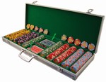 Aluminum Poker Chip Case