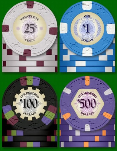 Protege poker chips what the winner of a poker hand wins crossword