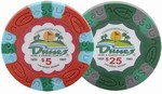 Dunes Commemorative Poker Chip Samples