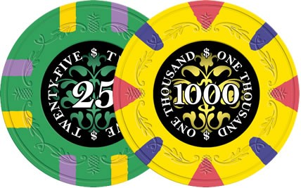 Paulson Poker Chip Sample - Try Sidepot.com
