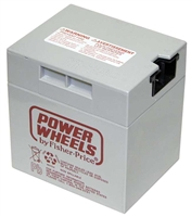Power Wheels 12 Volt 9.5AH (Grey Cube) Battery - 00801-0638