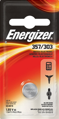 Energizer 357BP - 1.5V - Button Cell Battery