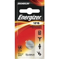 Energizer ECR1216 Coin Cell Battery