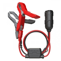 NOCO GC017 12V PLUG W/ BATTERY CLAMPS