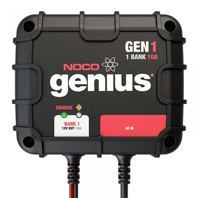 NOCO 1-Bank 10 Amp On-Board Battery Charger