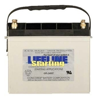 Lifeline GPL-2400T RV / Recreational Vehicle Battery